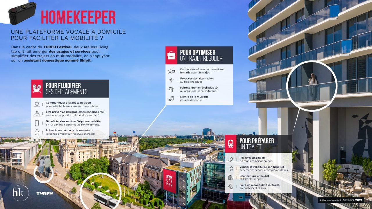 HomeKeeper : une plateforme vocale à domicile pour faciliter la mobilité ?